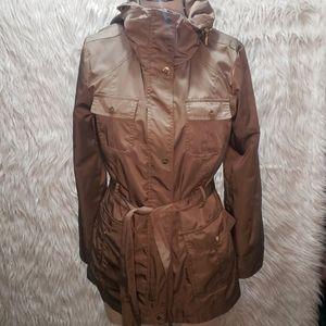 Ellen Tracy Windbreaker Jacket w/Belt and more